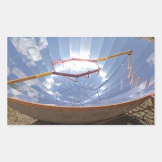 fogão solar adesivo retangular