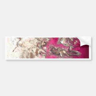 Fogo cor-de-rosa da pintura adesivo para carro