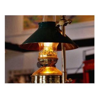 Fogo da lâmpada da lanterna cartão postal