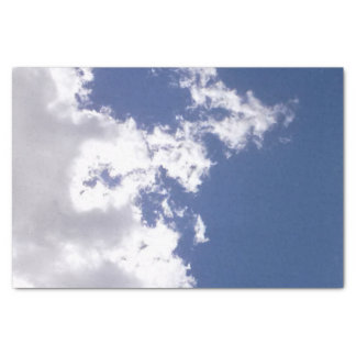 Fogo da nuvem papel de seda