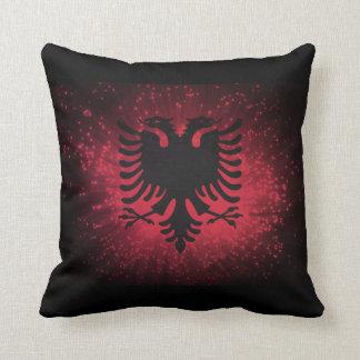 Fogo-de-artifício; Bandeira de Albânia Travesseiros De Decoração