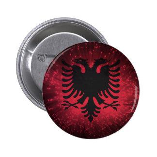 Fogo-de-artifício Bandeira de Albânia Boton