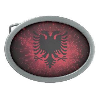 Fogo-de-artifício Bandeira de Albânia