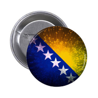 Fogo-de-artifício Bandeira de Bósnia Botons