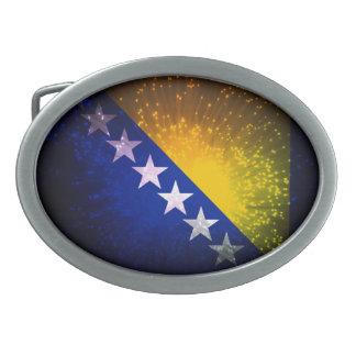 Fogo-de-artifício; Bandeira de Bósnia