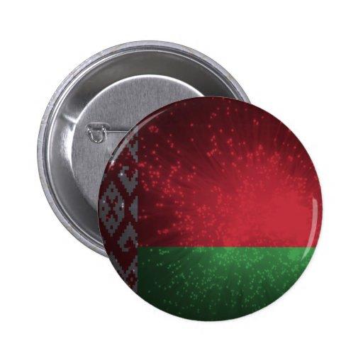 Fogo-de-artifício da bandeira de Belarus Boton