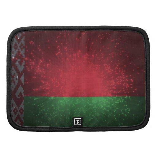Fogo-de-artifício da bandeira de Belarus Agenda
