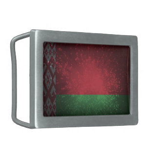 Fogo-de-artifício da bandeira de Belarus