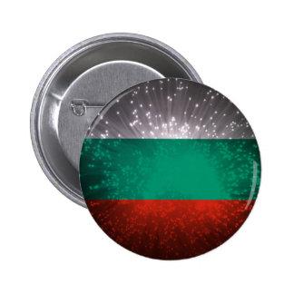 Fogo-de-artifício da bandeira de Bulgária Boton