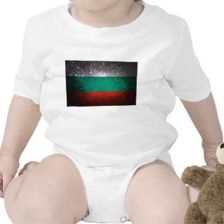 Fogo-de-artifício da bandeira de Bulgária Macacão