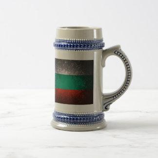 Fogo-de-artifício da bandeira de Bulgária Canecas
