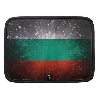 Fogo-de-artifício da bandeira de Bulgária Agenda