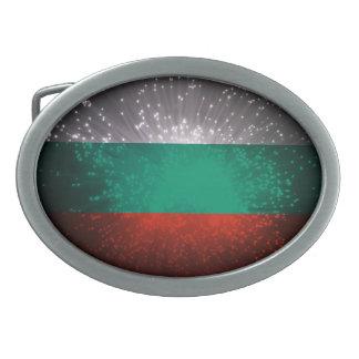 Fogo-de-artifício da bandeira de Bulgária