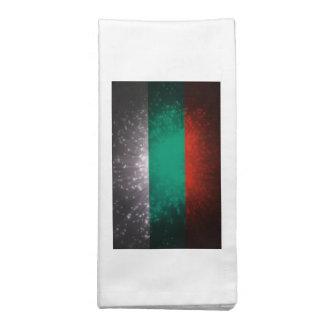 Fogo-de-artifício da bandeira de Bulgária Guardanapo