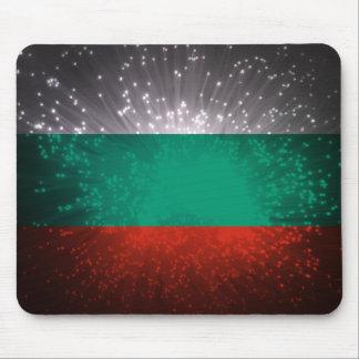 Fogo-de-artifício da bandeira de Bulgária Mouse Pads