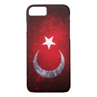 Fogo-de-artifício da bandeira de Turquia Capa iPhone 7