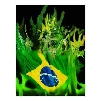 Fogo de Brasil Cartão Postal