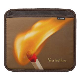 Fogo de travamento do fósforo sleeve para iPad