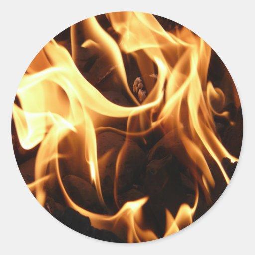 Armario Quarto Casas Bahia ~ Fogo e chamas adesivo Zazzle