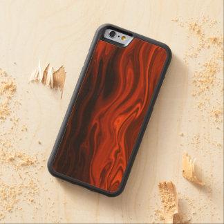 Fogo líquido por Shirley Taylor Capa De Madeira De Bordo Bumper Para iPhone 6