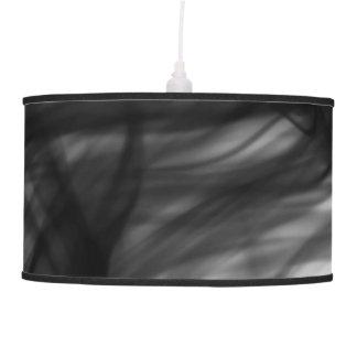 Fogo preto mim lâmpada de pendente pelo artista