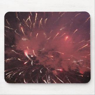 Fogos-de-artifício Mousepad