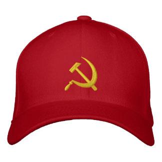 Foice de CCCP & chapéu soviéticos do martelo Boné Bordado