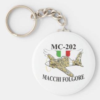 folgore do macchi mc-200 chaveiro