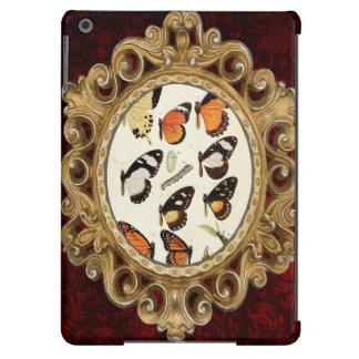 Folha da espécie da borboleta do vintage capa para iPad air
