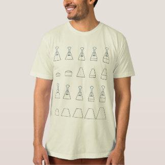 Folha das especs. do TLC Tugger Camiseta