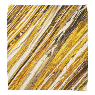 Folha de ouro cintilante de Falln Bandana