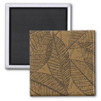 Folha de ouro ímã quadrado