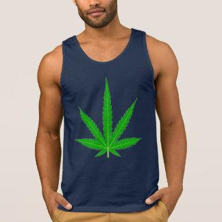 Folha do cannabis da marijuana por Valxart.com Regatas