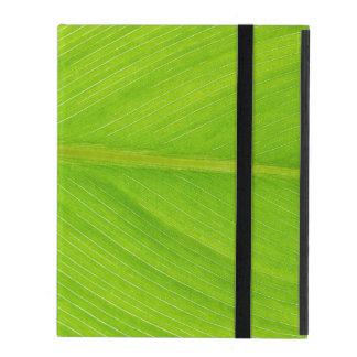 folha fresca verde-clara iPad capas
