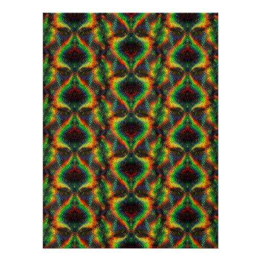 Folha holográfica de brilho do brilho das luzes do convite