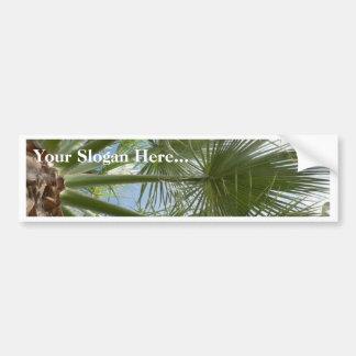 Folhas da palmeira adesivo para carro
