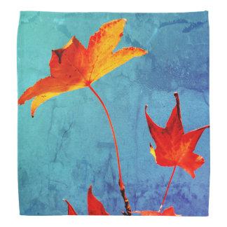 Folhas de bordo lenço