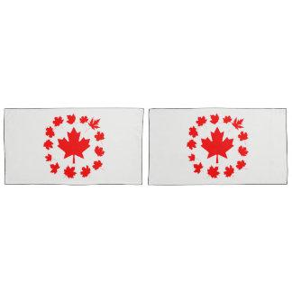 Folhas de bordo vermelhas de Canadá originais