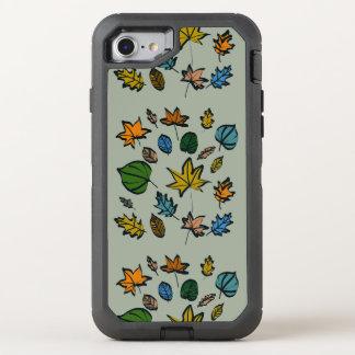 Folhas de outono em Otterbox para o iPhone 6 Capa Para iPhone 7 OtterBox Defender