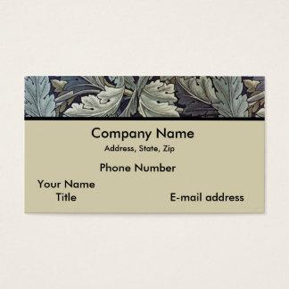 Folhas do Acanthus Cartão De Visitas