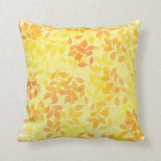 Folhas do descanso de lance do verão travesseiros de decoração