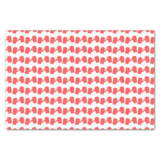 Folhas do lenço de papel do mitene do Natal