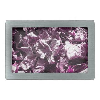 Folhas roxas