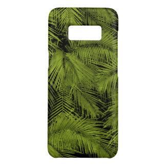 Folhas tropicais verdes havaianas das palmas de capa Case-Mate samsung galaxy s8
