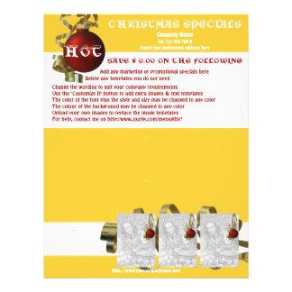 Folhetos relativos à promoção do marketing do flyer 21.59 x 27.94cm