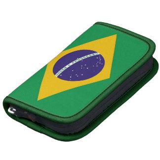 Fólio brasileiro do rickshaw da bandeira agendas