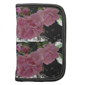 Fólio cor-de-rosa dos rosas organizador