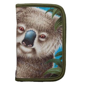 Fólio do Koala e do rickshaw do bebê Agenda
