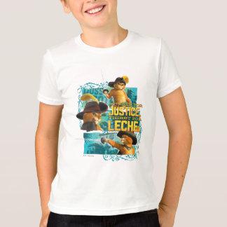 Fome para justiça camiseta