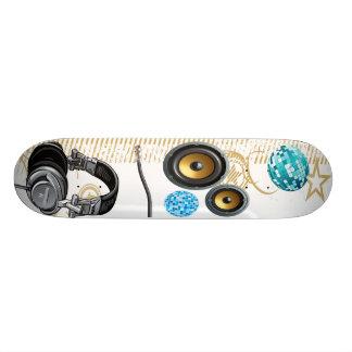 Fones de ouvido skates personalizados